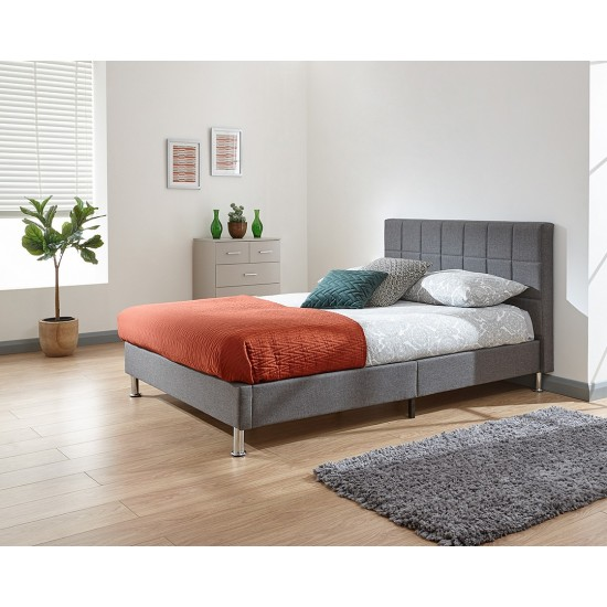 FRESNO Fabric Bed in a Box Double