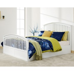 Madrid High foot end Side Lift Ottoman Bed King Size