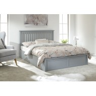 Solid Wood Ottoman Storage Bed