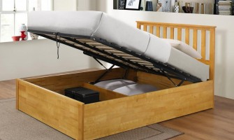 Wooden Ottoman Bed