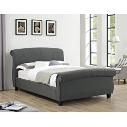 Arabella Linen Fabric 4ft6 Double, 5ft King Size Bed Frame