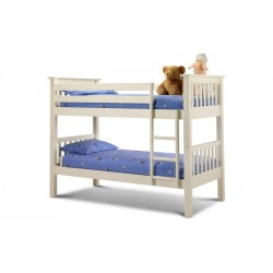 Kids Barcelona Bunk Bed - Stone White