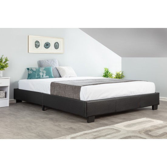 Double 4ft6 Compact Platform Bed
