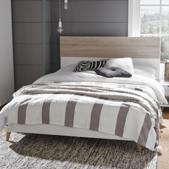Stockholm Scandinavian Style King Bed Frame