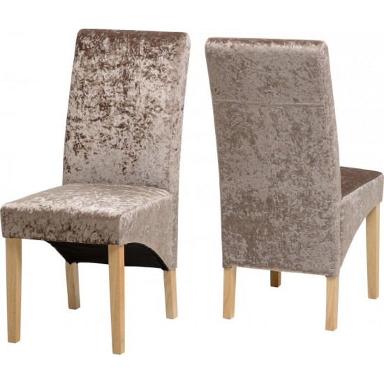 Crushed Velvet Dining Chairs